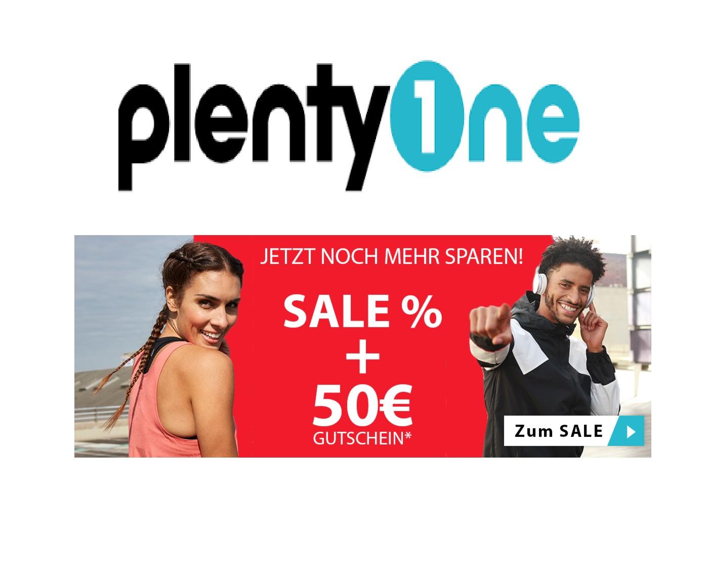 Jetzt bei plentyOne: 50,-€ Gutschein auf (fast) alles - Auch im Sale! (ab 200,-€ MBW)
