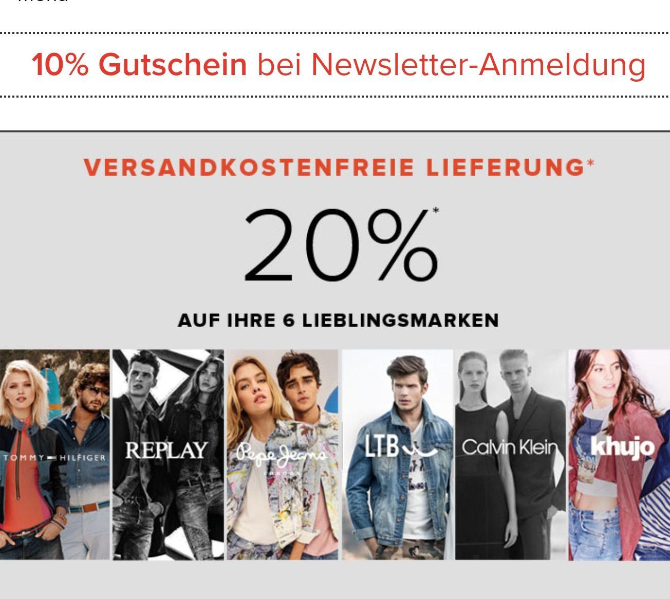 [dressforless]Bis zu 65% Rabatt im Sale + 20% extra auf ausgewählte Marken + 10% bei Newsletter Anmeldung