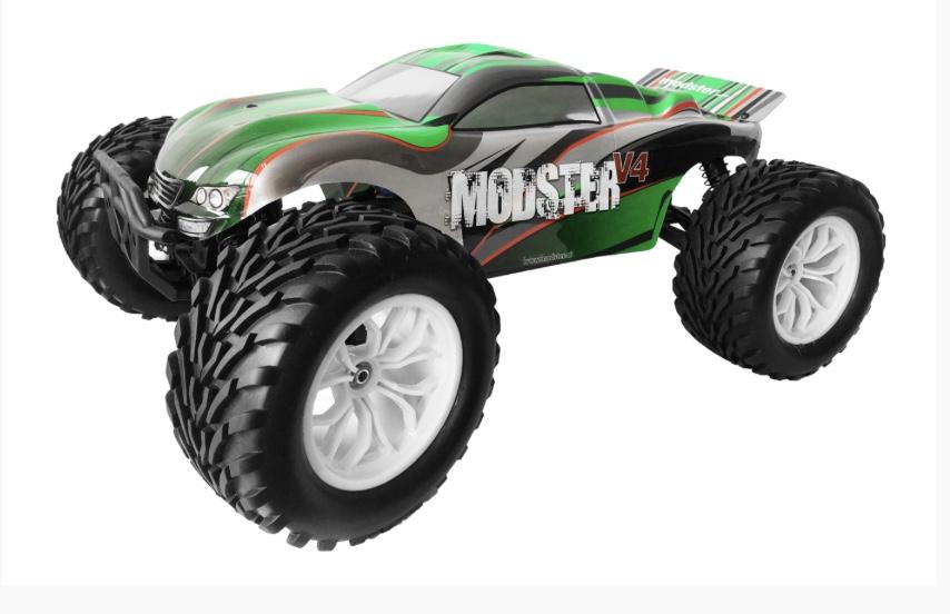 Toys for boys: RTR-Monstertruck mit Brushless-Motoren zum Preis der Brushed-Variante / PLUS Gutscheincode möglich!