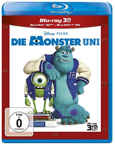 [Prime] Die Monster Uni 3D Blu-ray (inkl. 2D Blu-ray) für 9,99€