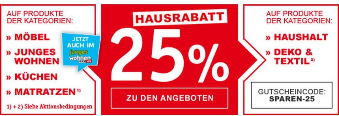 25% bei XXXLutz
