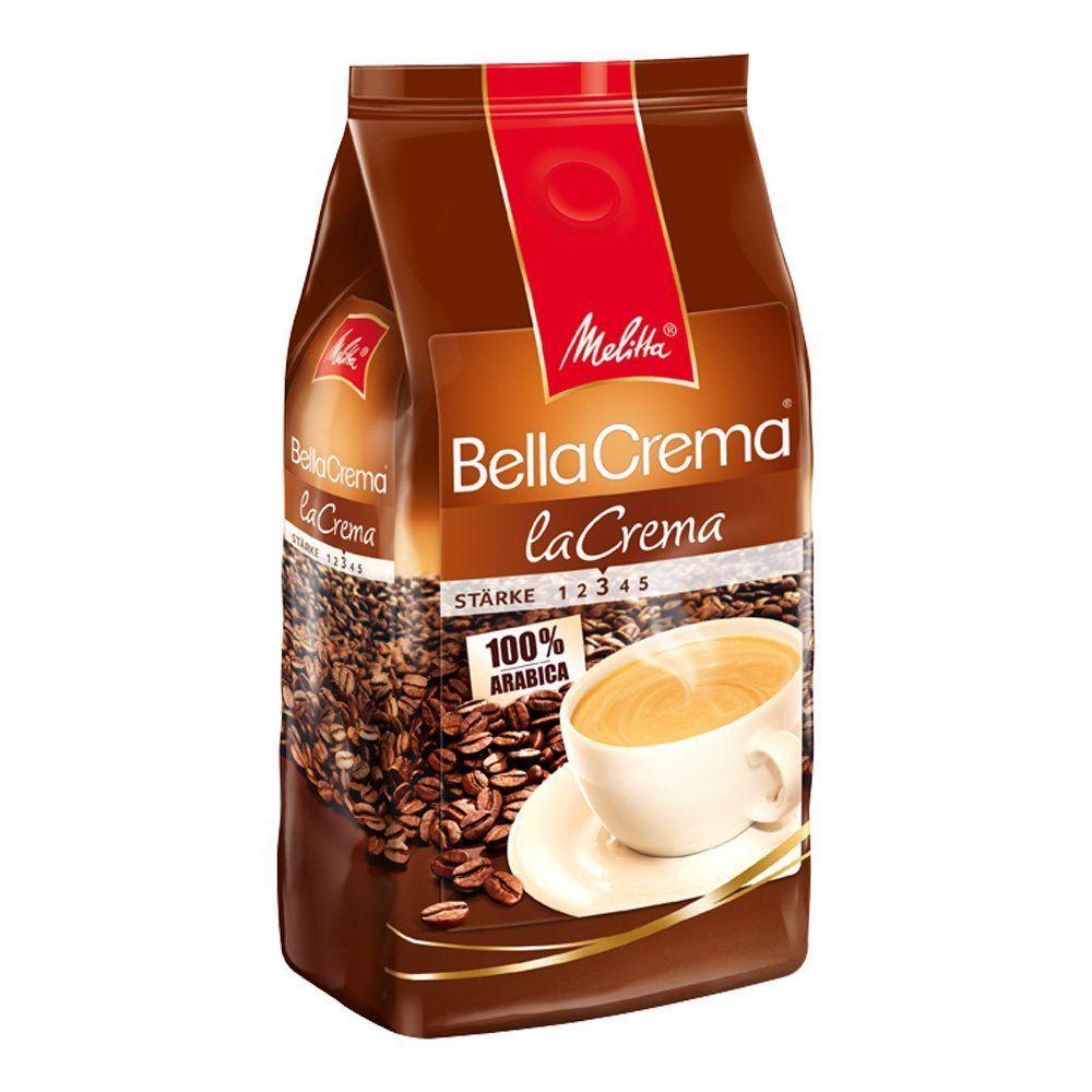 Melitta Ganze Bohne BellaCrema la Crema 1kg