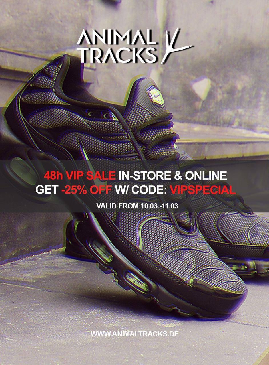 25 % Rabatt auf alle Produkte (vor allem Trend-Sneaker von Nike, Adidas, Asics etc)