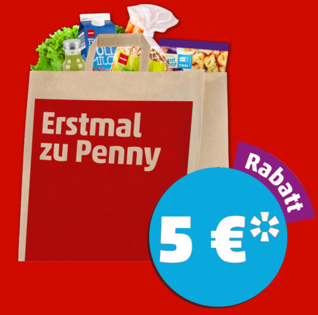 [Penny] 5€ Rabatt ab 40€ Einkauf am 16.03.2018