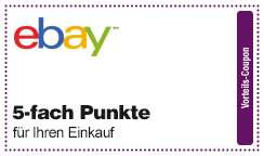 [eBay] 5-fach DeutschlandCard Punkte Coupon
