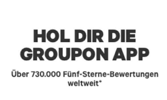 Nur heute bis 16 Uhr gibt es bei GROUPON 20% Rabatt auf lokale Deals!*