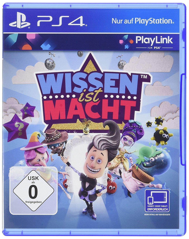[Amazon.de] Wissen ist Macht - PlayStation 4 PlayLink - Bestpreis