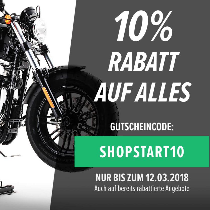Motorrad Sammeldeal Motea.com 10% auf alles heute