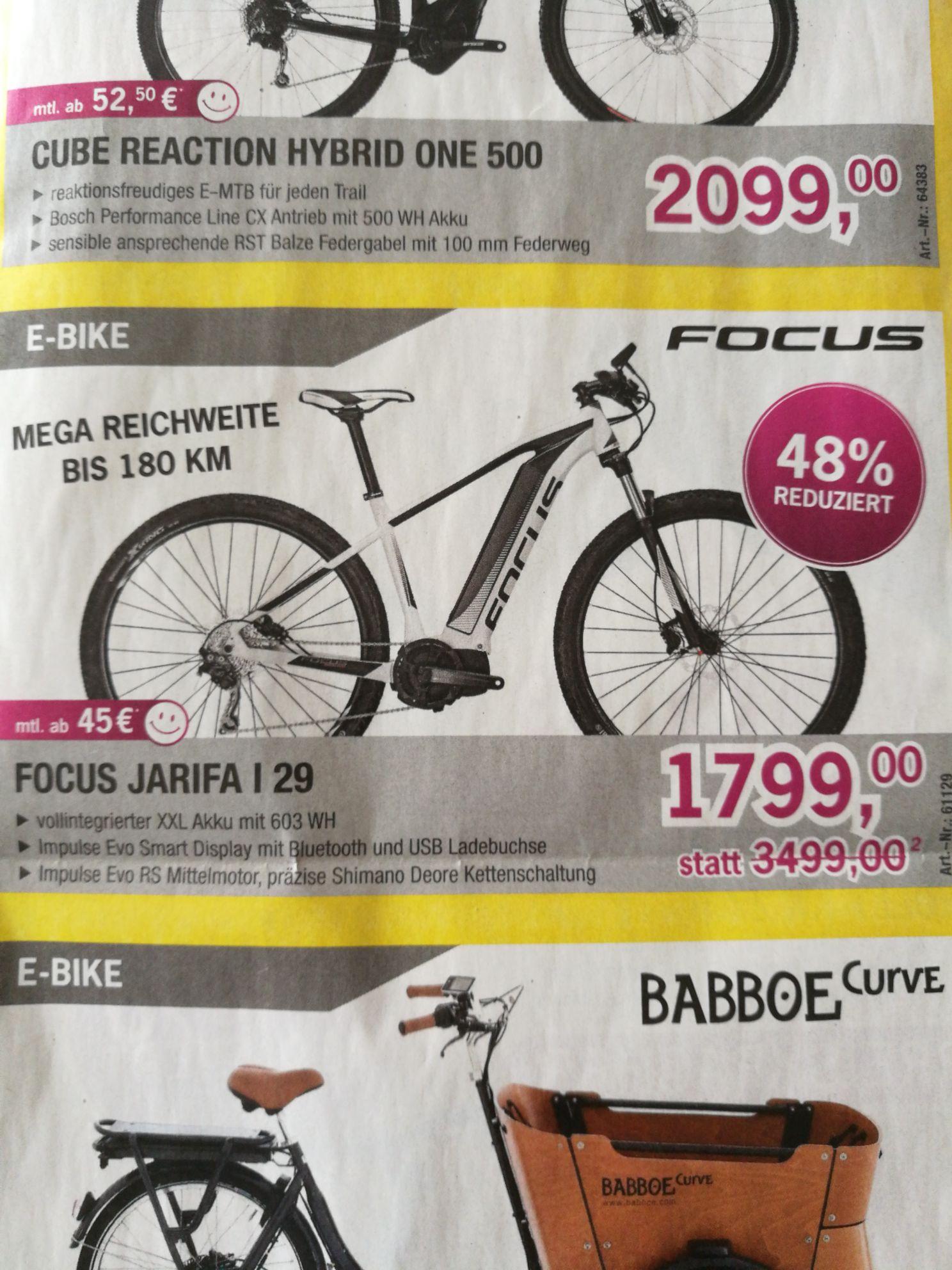 (Lokal Landshut/Ergolding) Focus E Mountainbike Jarifa