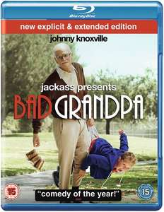 Bad Grandpa - Extended Cut [Blu-ray] für 3€ [Zoom.co.uk]
