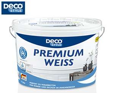DECO STYLE®  Premiumweiß - 11-l-Eimer - ALDI Süd - ab 15.3.