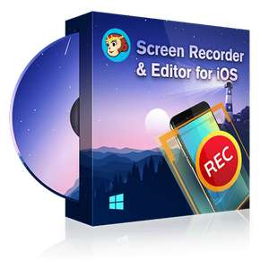 DVDFab Screen Recorder & Editor for iOS (Windows Version) 1 Jahres Lizenz