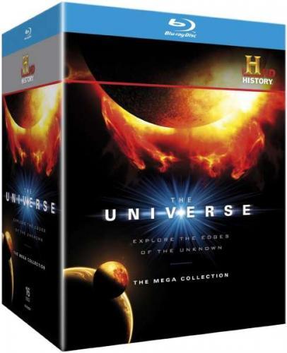 (O-TON) The Universe Complete Season 1-5 Collector's Box Set (+3D Bonus Disc) Blu-ray / 44,16 (+EUST) @zavvi