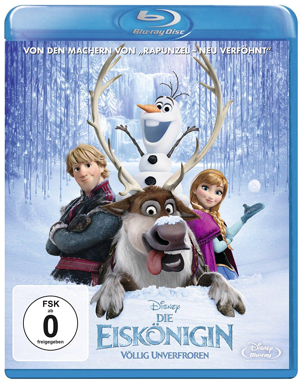 Die Eiskönigin - Völlig Unverfroren (Blu-ray) für 6,97€ (Media Markt & Amazon Prime & Dodax)