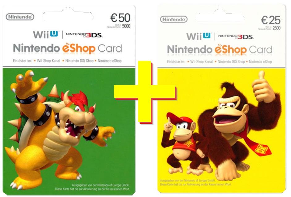 Nintendo Switch / Wii U / 3DS 75 € eShop Guthaben [Paydirekt, Alternate]