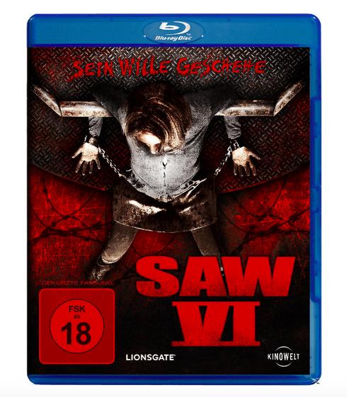 Saw 6 (Blu-ray) für 3€ inkl. Versand (Media Markt)