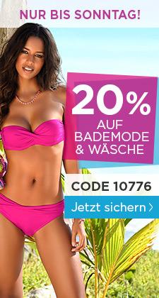 [heine.de] 20% auf Wäsche und Bademoden
