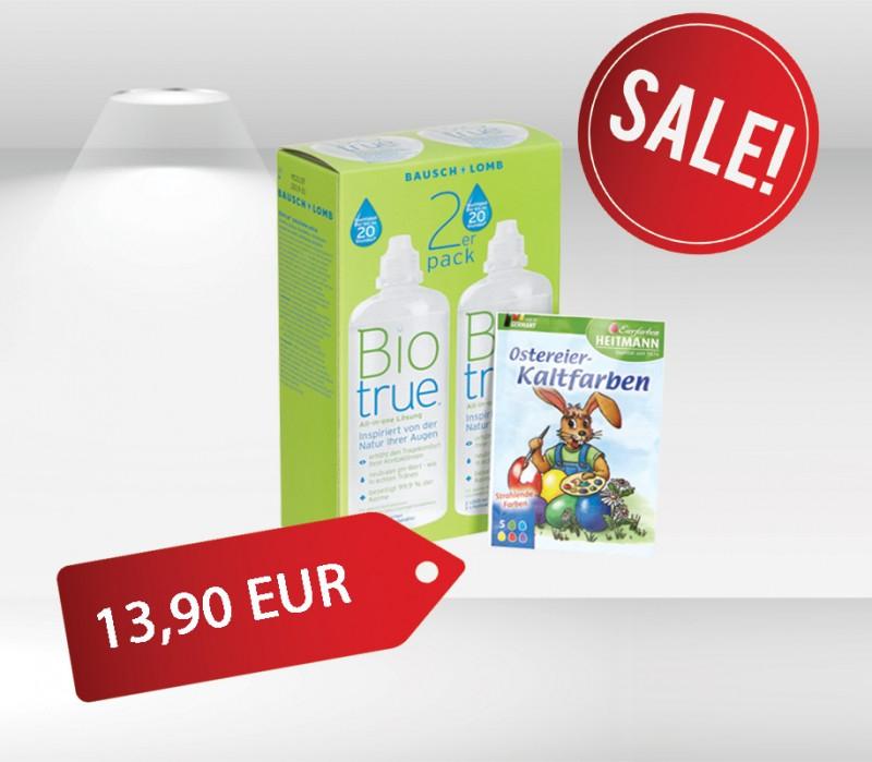 März Aktion! Biotrue® All-in-one Lösung & Gratis Geschenk + Versandkostenfrei
