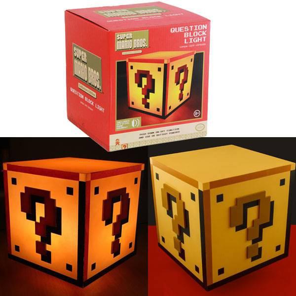 Super Mario Fragezeichen Lampe