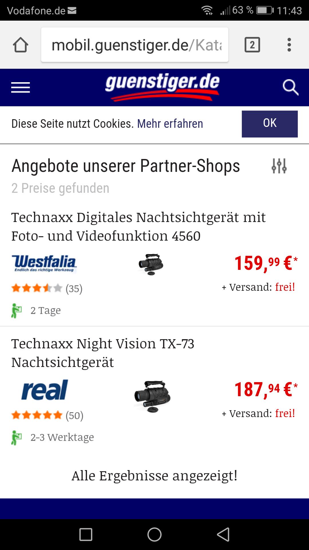 Technaxx Digitales Nachtsichtgerät