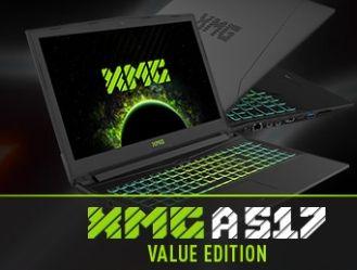 XMG Schenker Notebook A517 15.6'' Zoll Full-HD IPS | non-glare, i5-7300HQ, GTX 1060 6gb, 8gb RAM, 250gb M.2. Samsung 860 EVO SSD, FreeDOS - (weiter aufrüstbar)