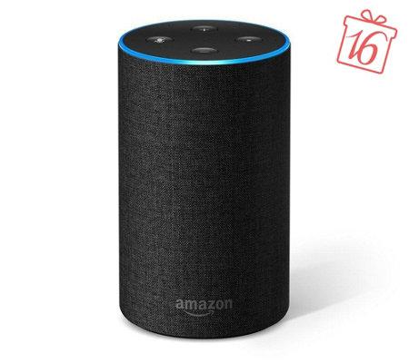 Amazon Echo 2. Generation schwarz - effektiv 79,92 EUR möglich @ QVC