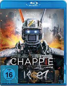 Chappie (Mastered in 4K) [Blu-ray]  für 4,78€ [dodax]