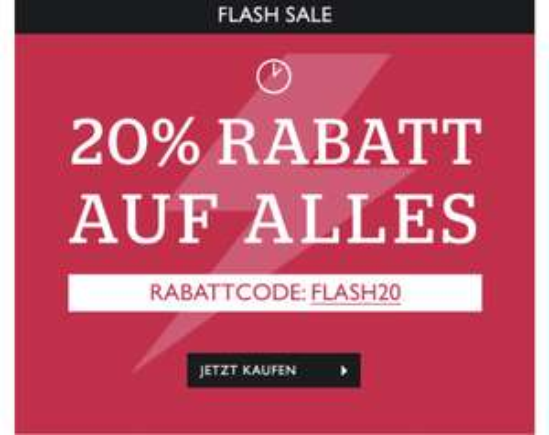 20% auf alles bei Dobell.de