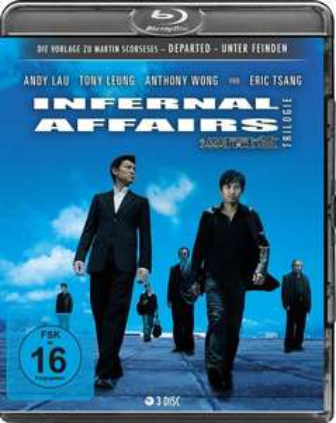 [Thalia] Infernal Affairs 1-3 Trilogie (3 Blu-rays) für 18,03€ und Steelbook Limited Edition (3 Blu-rays) für 22,95€