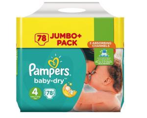 [Dm] Pampers Jumbo Pack für 10,95 Euro mit der Glückskind App