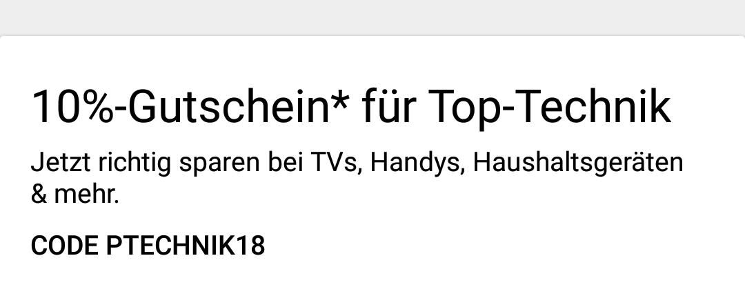 eBay 10% in Kategorie Elektronik! (Max. 50€)