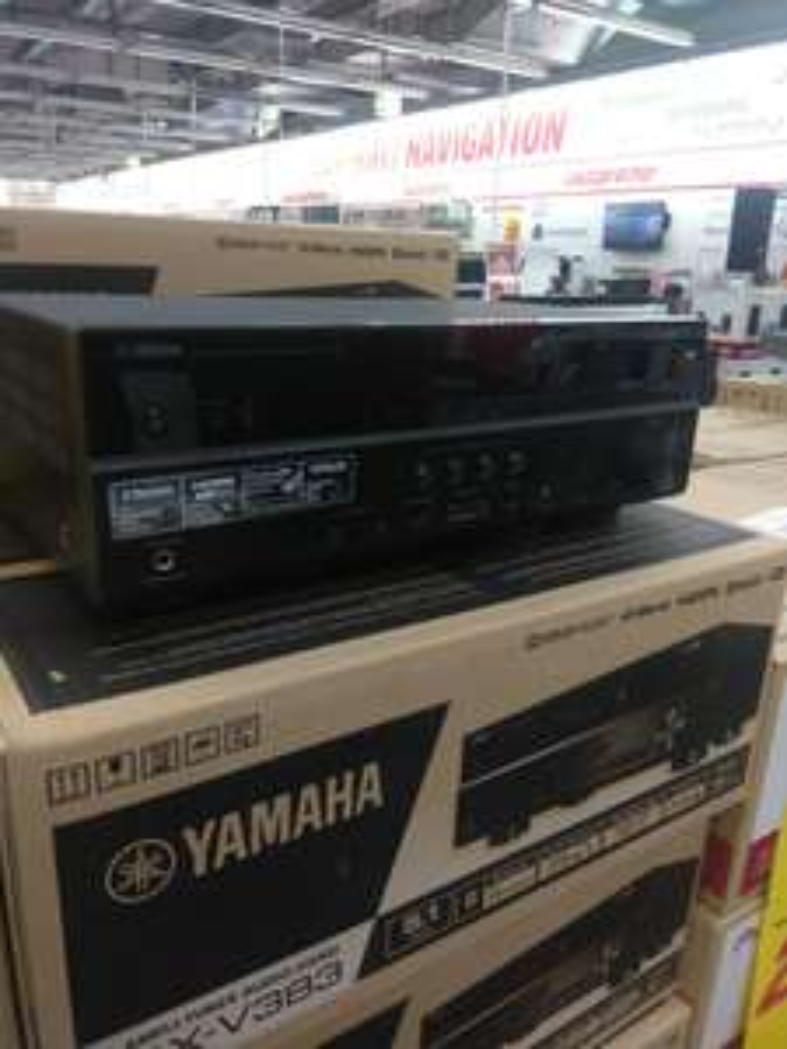 (lokaler Deal) Yamaha RX-V 383 Heimkinoreceiver Media Markt Bochum Ruhrpark