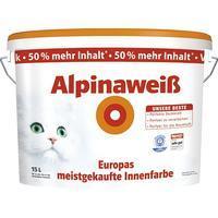 Alpina Wandfarbe weis 10l @ toom