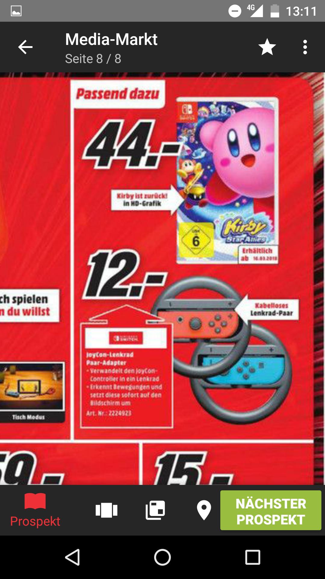 [Lokal Stuttgart und Umgebung] Kirby Star Allies - Nintendo Switch