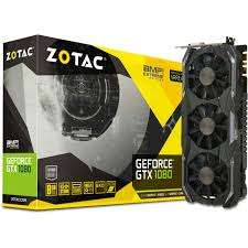 Zotac GeForce GTX 1080 AMP Extreme 8192MB GDDR5X