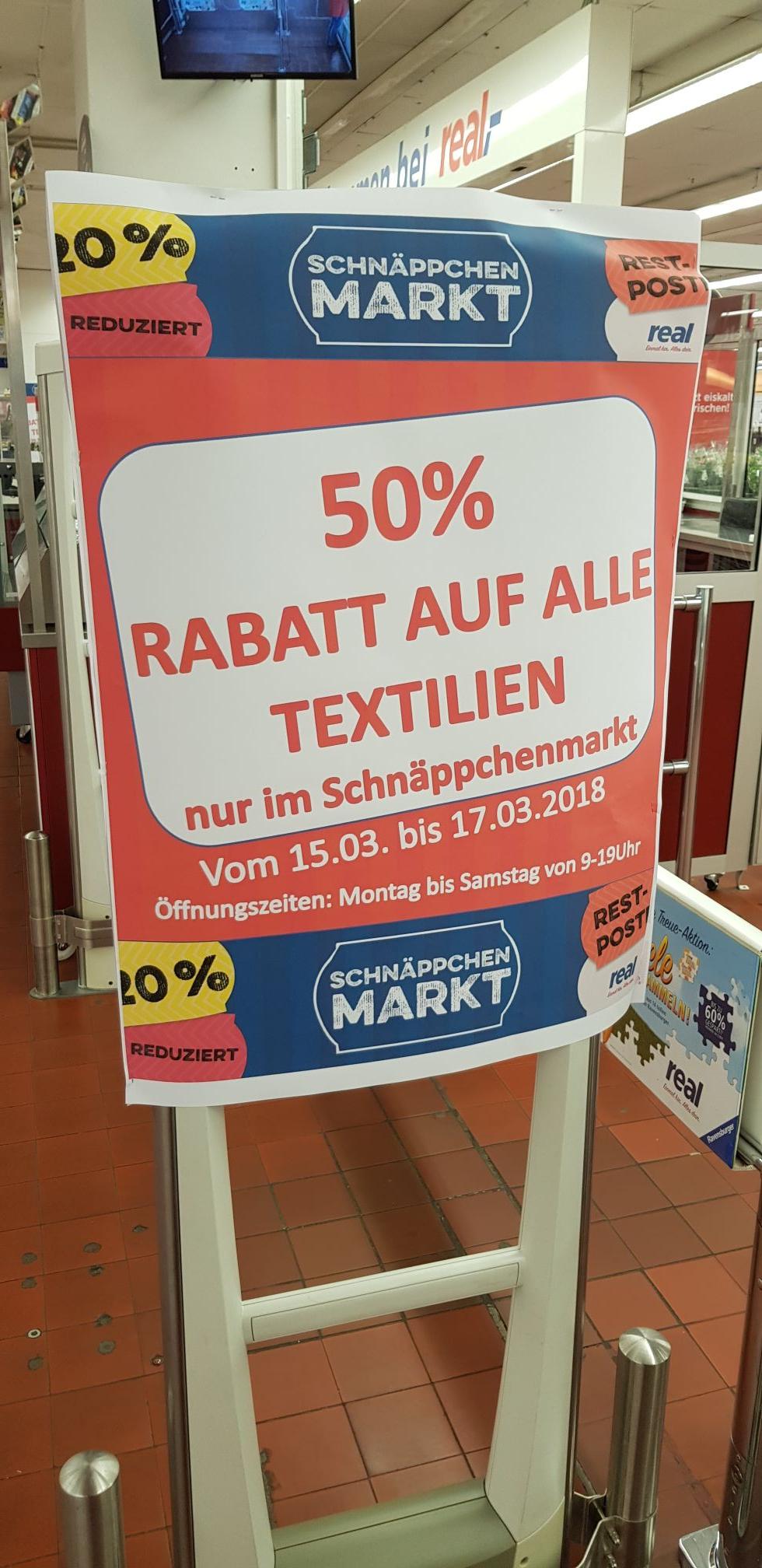 Real Schnäppchen Markt Bremen Vahr