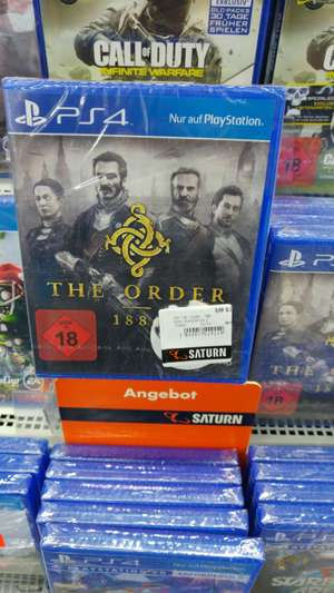 [Lokal] The Order 1886 (Ps4) Saturn Dortmund- Eving