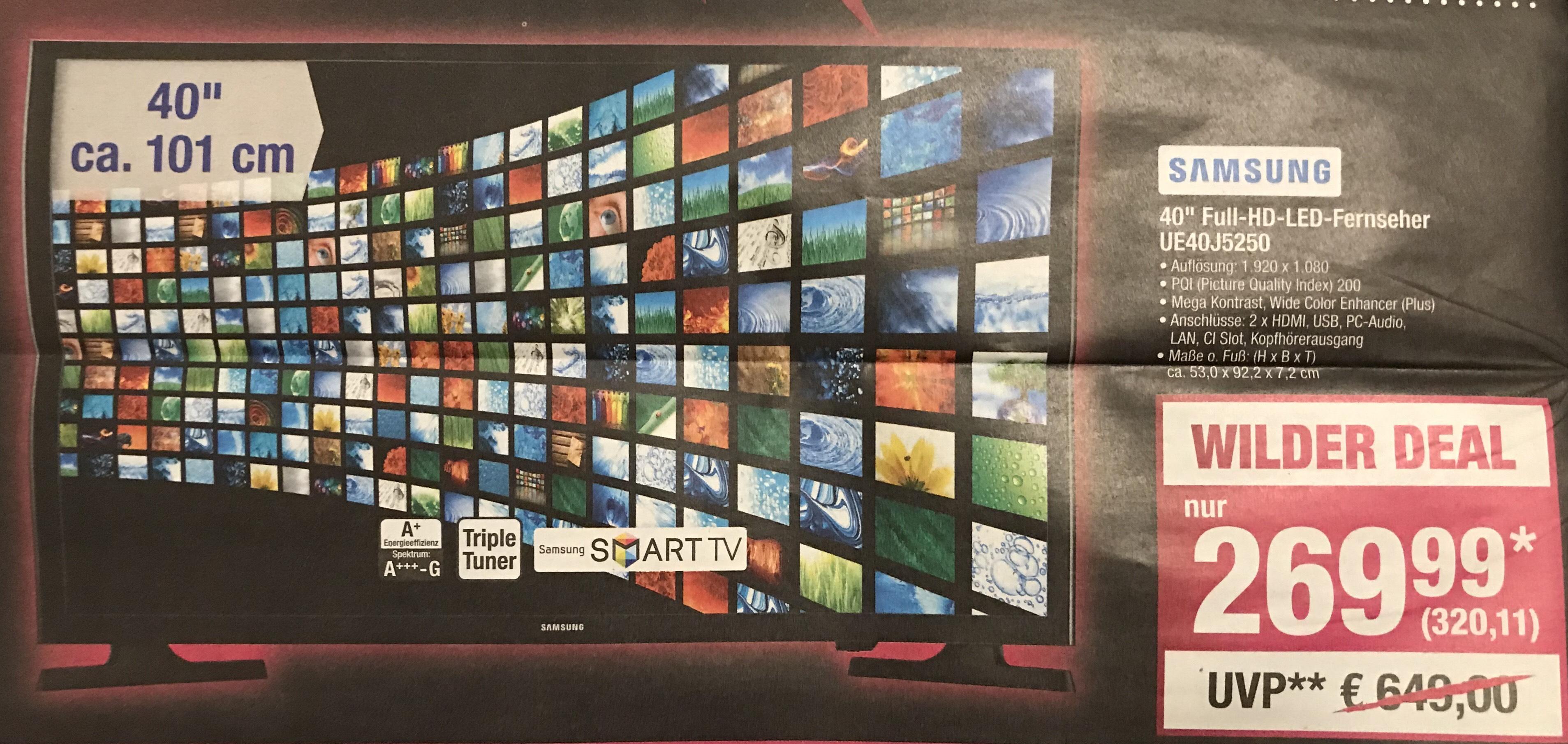 "Samsung 40"" Full-HD-LED-Fernseher UE40J5250"