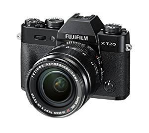 [amazon.it] Fujifilm X-T20 (24.3 MP, APS-C, X-Trans, CMOS III Sensor, 4K Video) schwarz mit Objektiv XF 18-55mm 2.8-4.0 R LM OIS