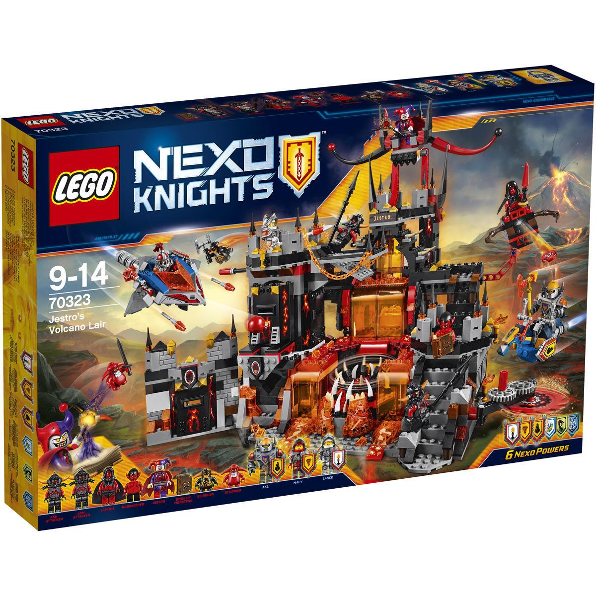LEGO Sets im Angebot bei [Karstadt] z.B. Lego 70323 Nexo Knights Jestros Vulkanfestung