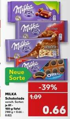 Kaufland: Milka Schokolade verschiedene Sorten ab 22.03.