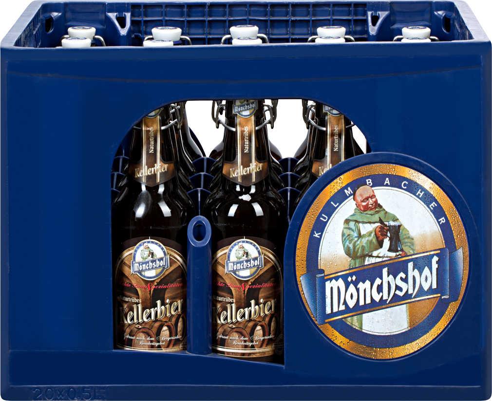 Mönchshof Bier: Original, Kellerbier & Naturradler 20x 0,5l für 11,00 € bei Kaufland