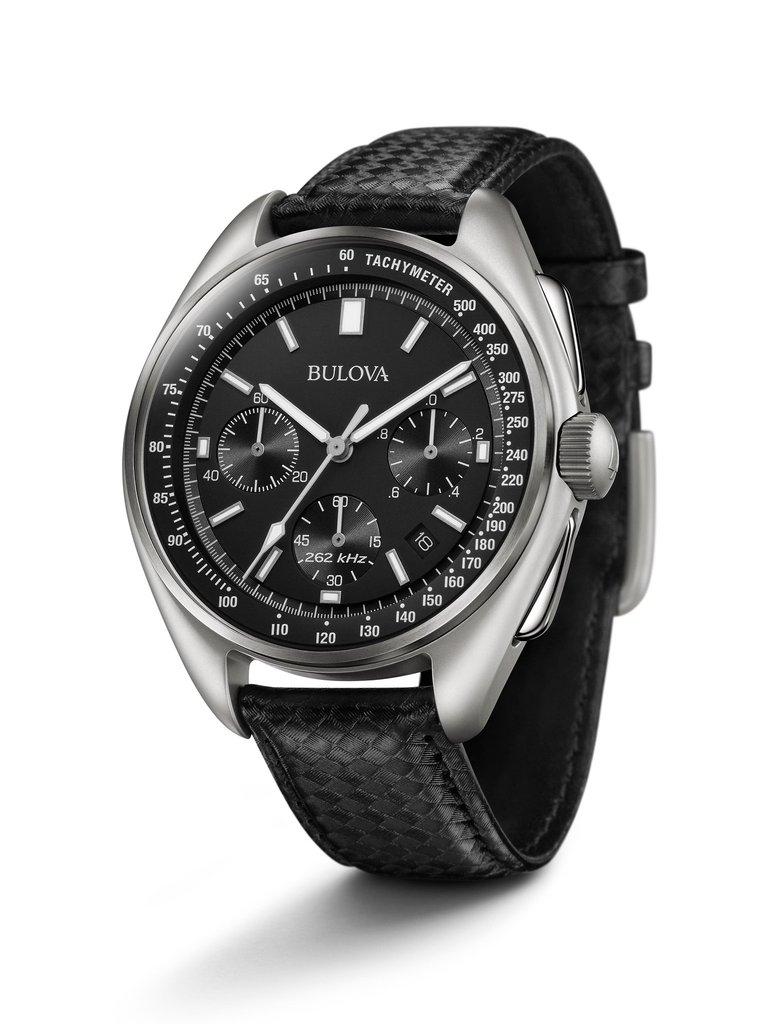"""Bulova Herren Chronograph Lunar Pilot """"Moon Watch"""" (96B251)"""