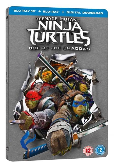 Teenage Mutant Ninja Turtles: Out of the shadows Steelbook (3D+Blu-Ray+Digital copy) für 5,07€ [zoom.co.uk]
