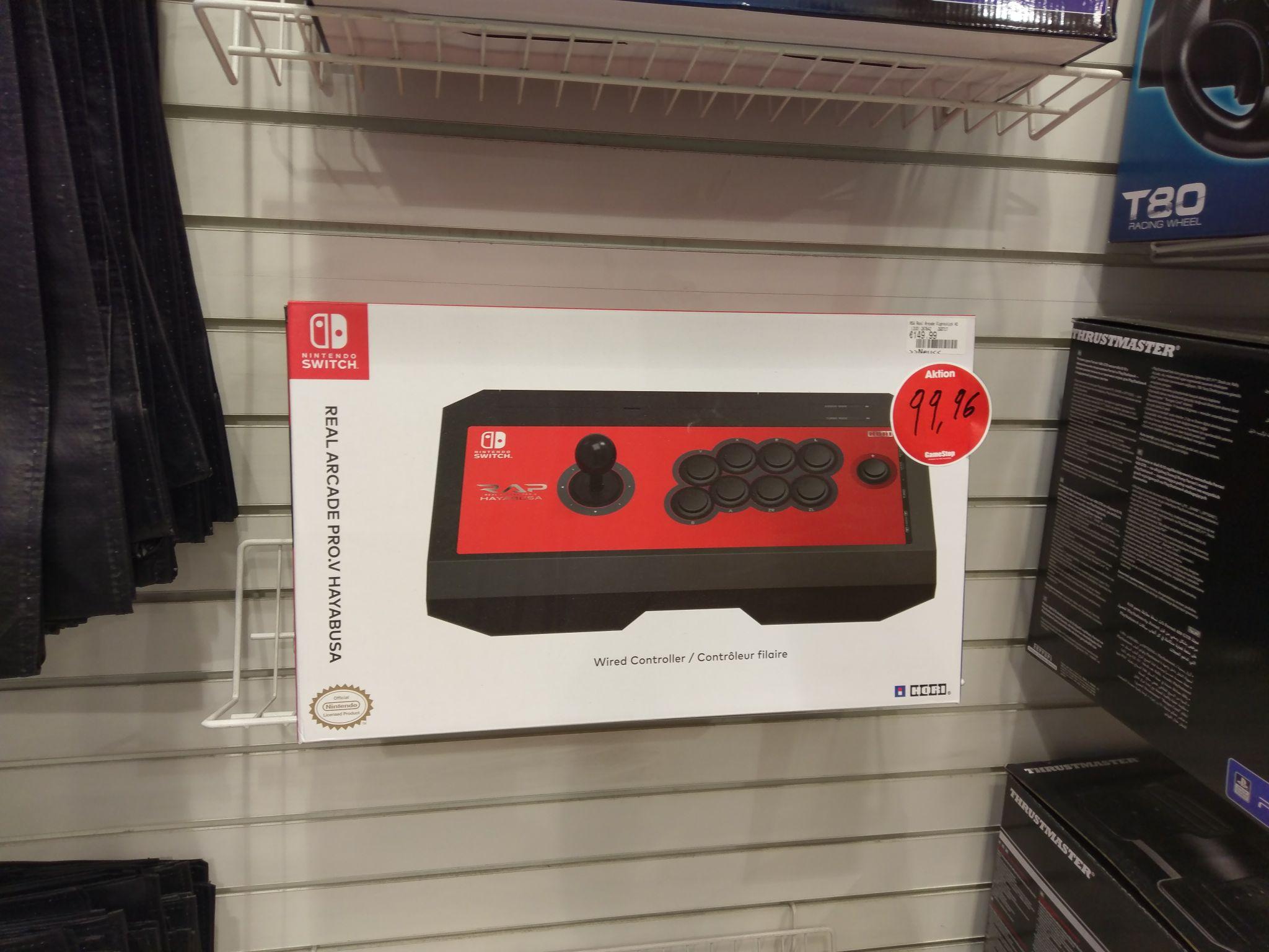 Nintendo Switch RAP V Arcadestick gamestop offline und online