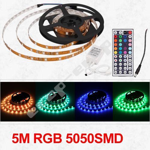 16 Farben 5M 5050 SMD Lichterkette nur für 23,99 Euro inkl. Versand[@Ebay.de]