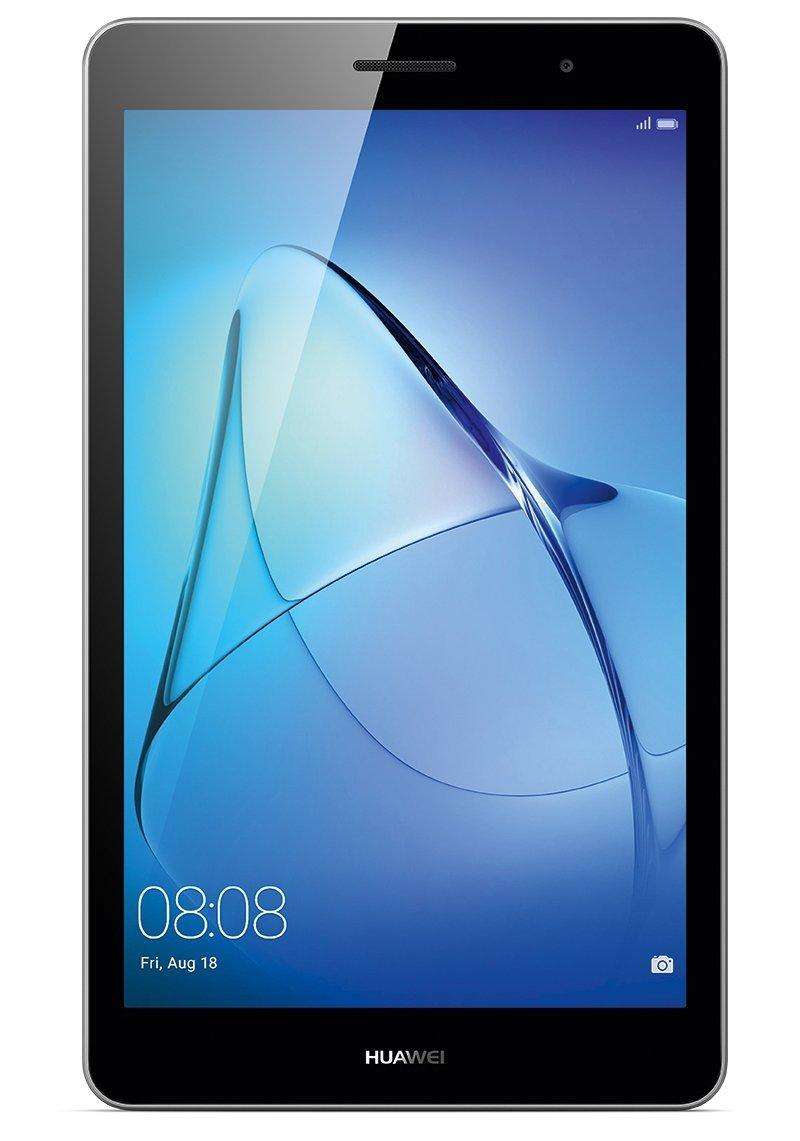 HUAWEI MediaPad T3 8 LTE 20,3 cm (8,0 Zoll) Tablet-PC (hochwertiges Metallgehäuse, Qualcomm™ Quad-Core Prozessor, 2 GB RAM, 16 GB interner Speicher, Android 7.0, EMUI 5.1) grau