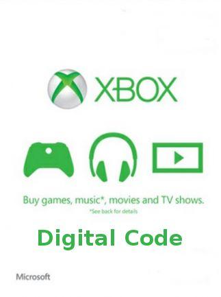 [G2A] 50€ Xbox Live Card für 39,35€