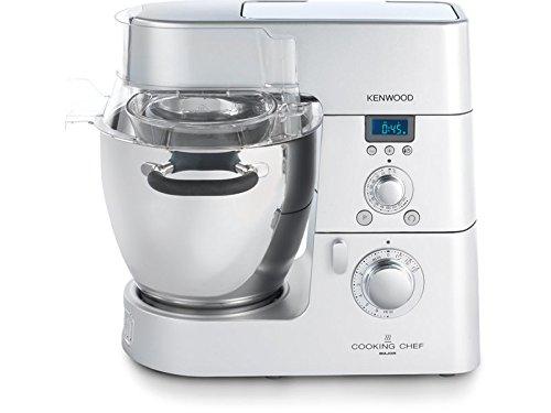 Kenwood Cooking Chef KM082 Küchenmaschine, 1500 Watt, silberfarben