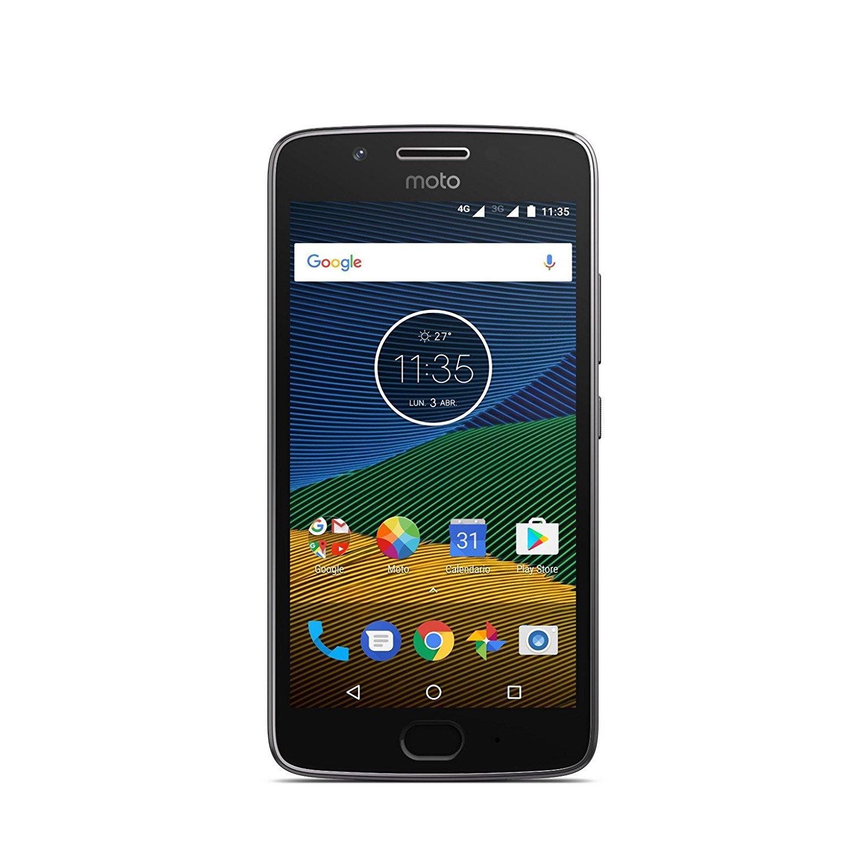 Lenovo Moto G5 Dual-SIM in der 3GB-Version für 122,72€ [Amazon.es]